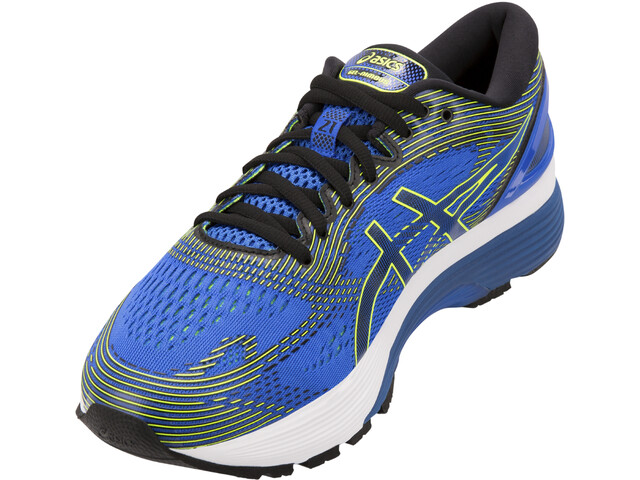 finest selection 680d9 c3277 asics Gel-Nimbus 21 Shoes Herren illusion blue/black